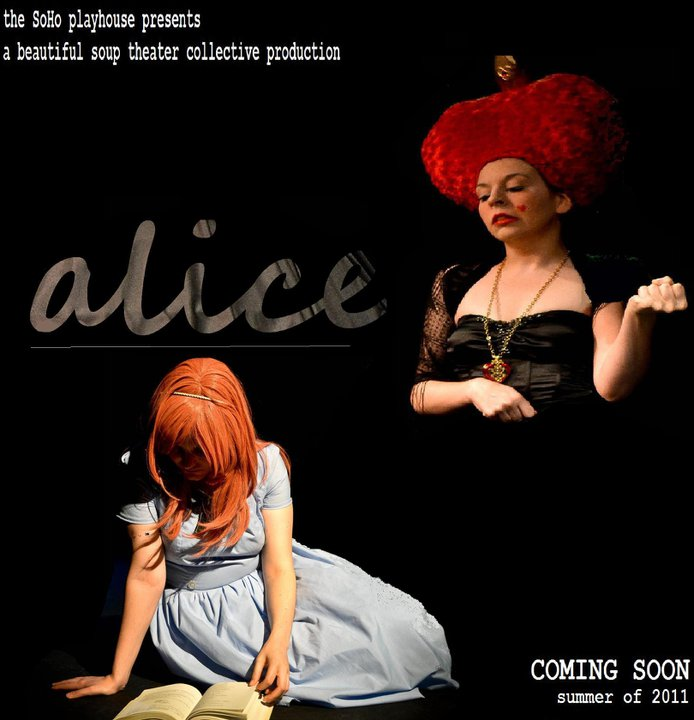 The Official Poster of Alice in Wonderland by the Beautiful Soup