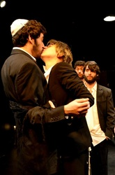 Left to right: Avigdor (Peter Oliver), Anshel (Mallory Berlin)