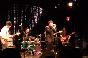 The Looking perform at Symphony Space on February 25, 2013