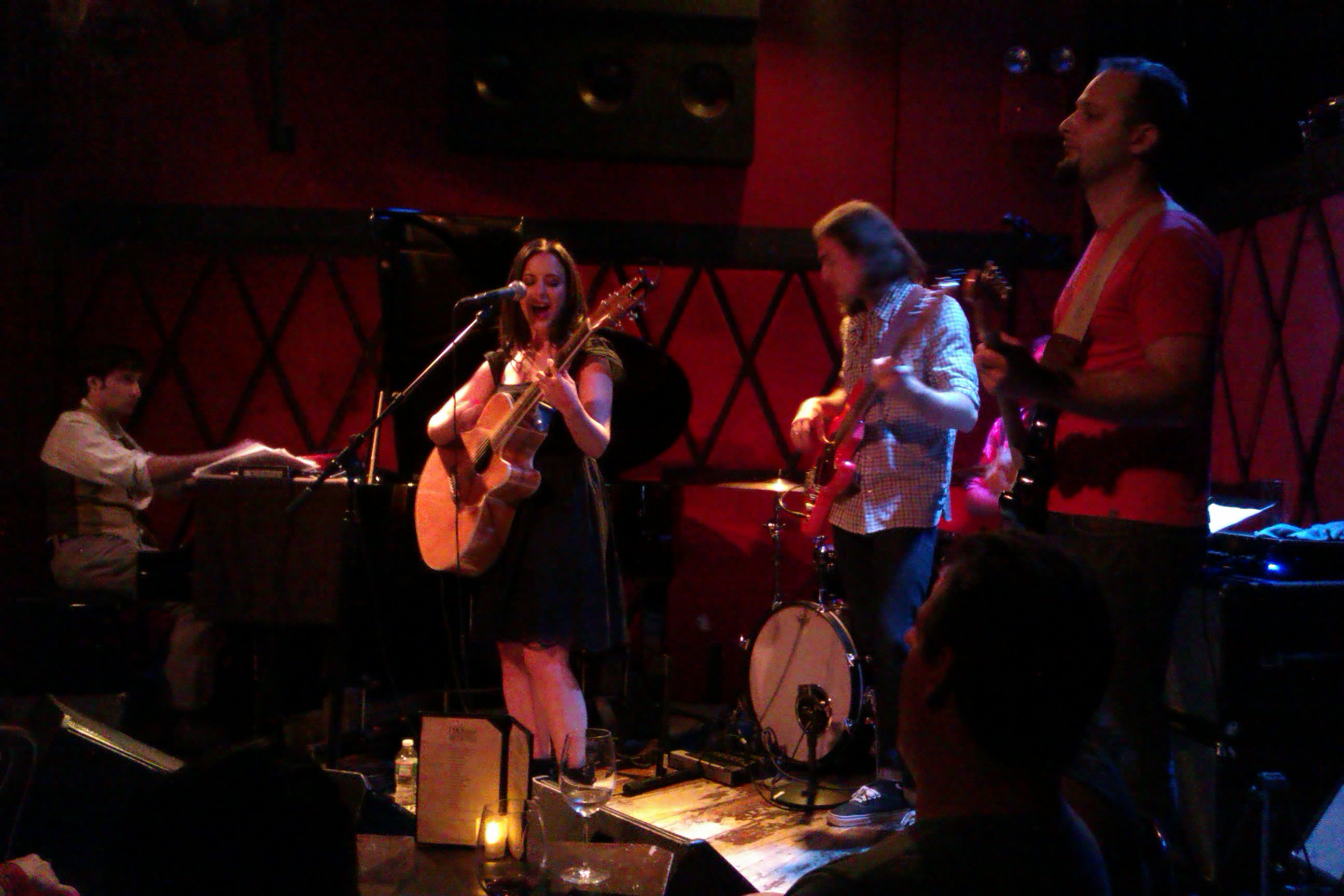 Casey Dinkin performed at Rockwood Music Hall on Sunday, July 28, 2013