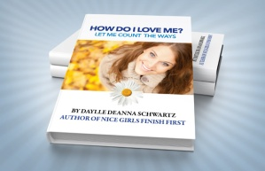 """Book Title: """"How Do I Love Me? Let Me Count The Way"""", a book that Daylle is giving away"""