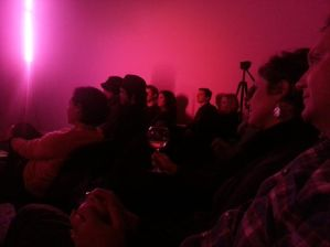 Audience at Cantina Royal watch John Elliott, November 8th, 2013