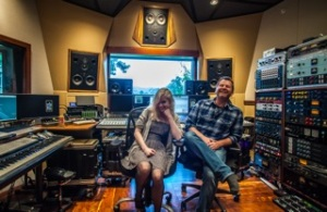 Holly Henry and Chris Tyng - founder of the Grow Music Project