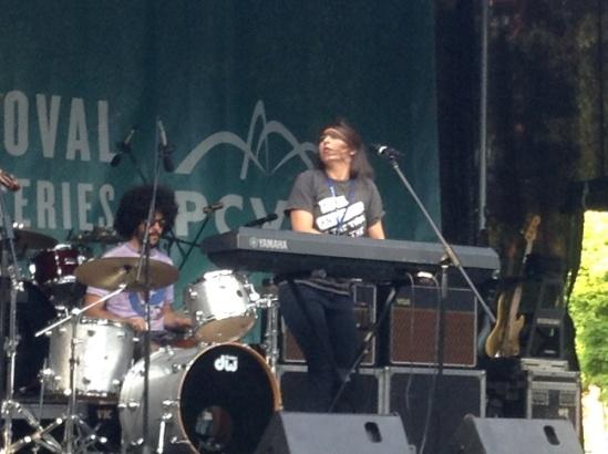 Sylvana and drummer, Nick Salgo