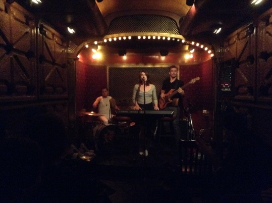Janna Pelle's set at Pete's Candy Store, as part of Tinderbox Arts showcase for CMJ, 10/23/2014