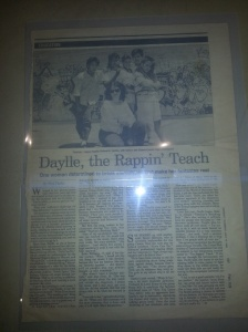 Article about Daylle by Newsday from the 1980's