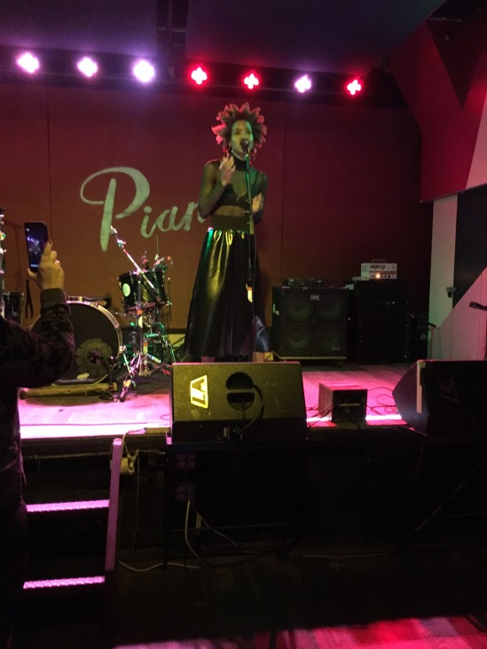 Ava Raiin performing at Pianos, Oct. 2017