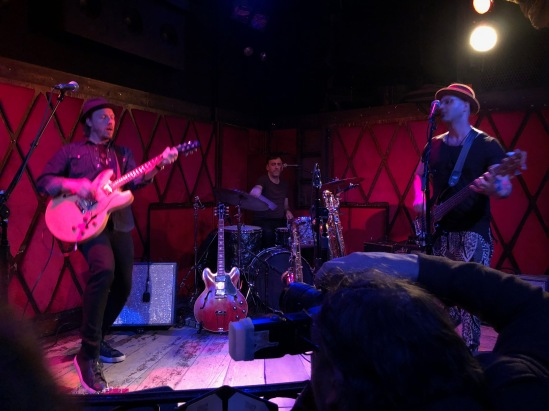 Jamie McLean Band at Rockwood Music Hall, Stage 2, 02/28/2018