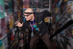 MC Frontalot Press photo by Richard Shakespeare